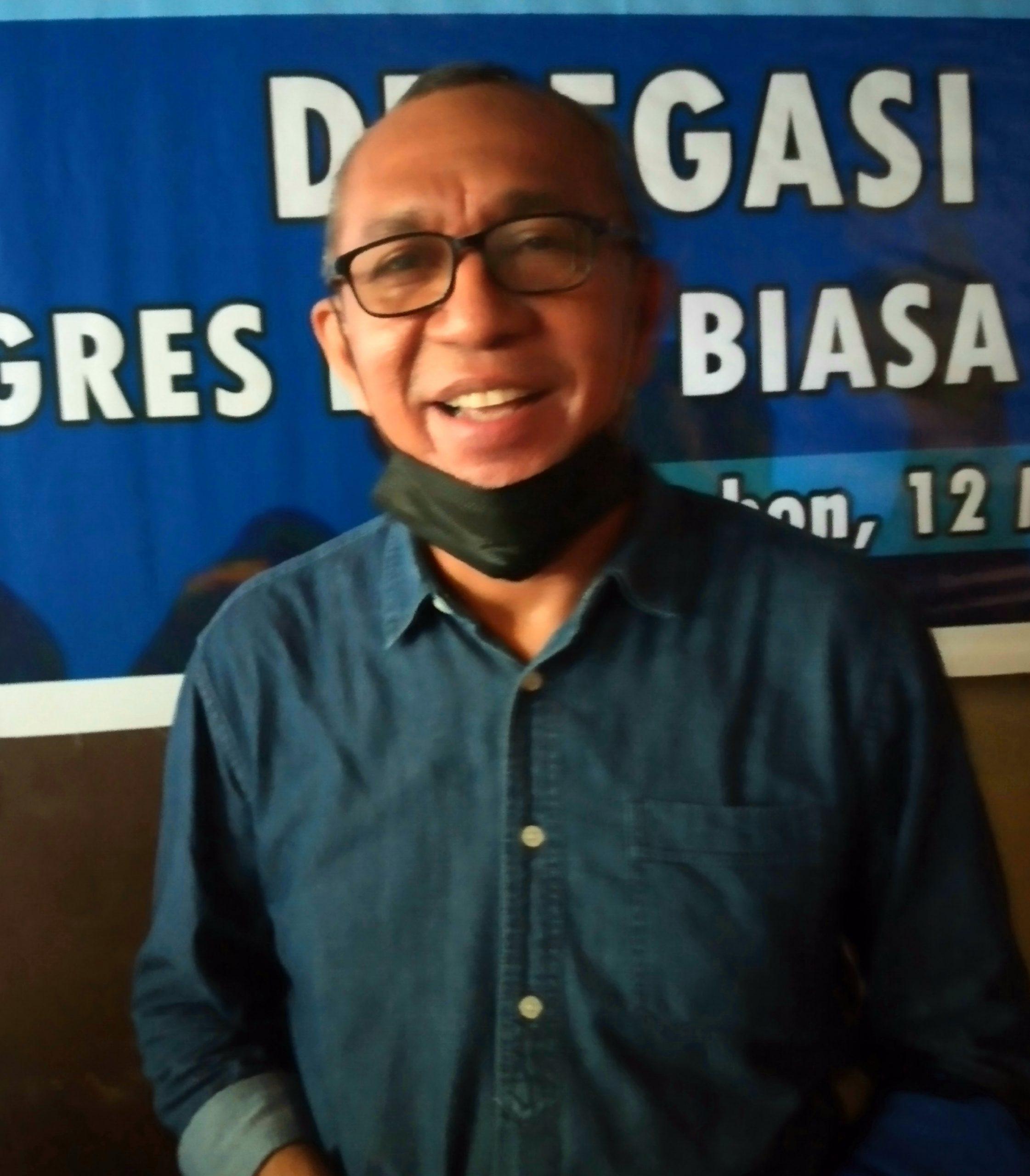 Pelaksana Tugas (Plt) Ketua DPC PD Kota Ambon, Marcus Pentury.